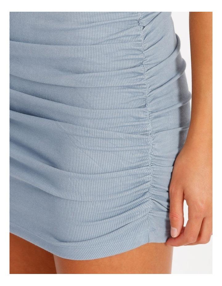 Ruched Mini Dress image 4