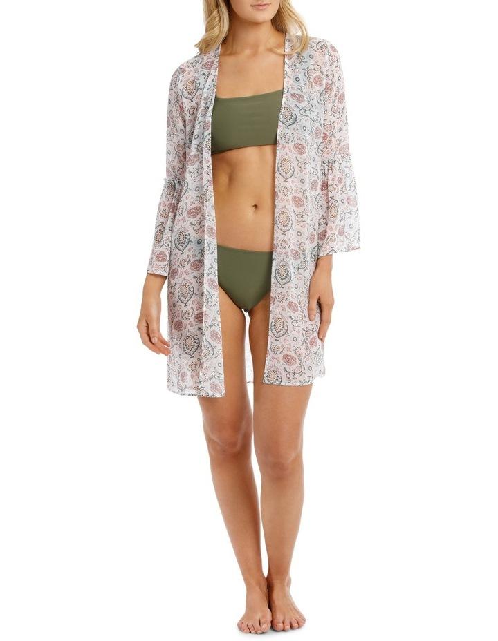 Ruffle Sleeve Kimono image 1