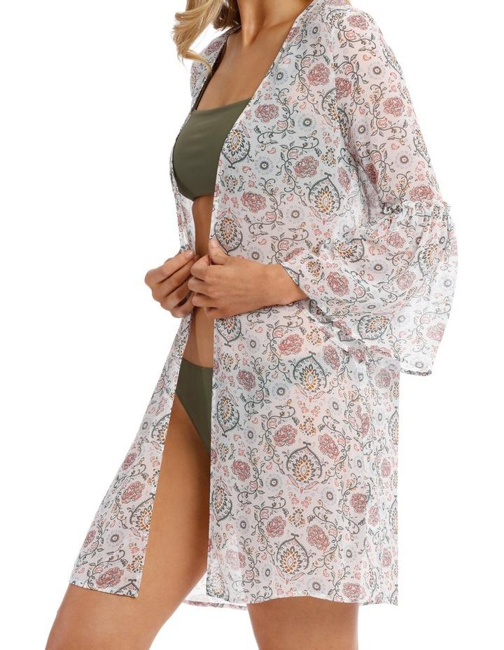 Ruffle Sleeve Kimono image 3