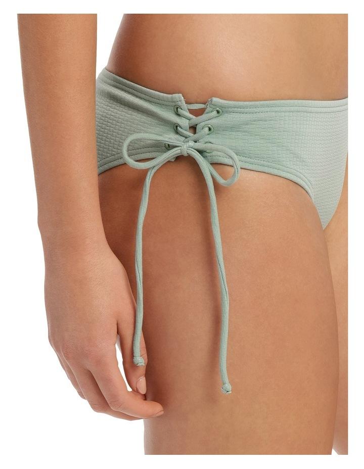 Textured Tie Up Bottom image 3