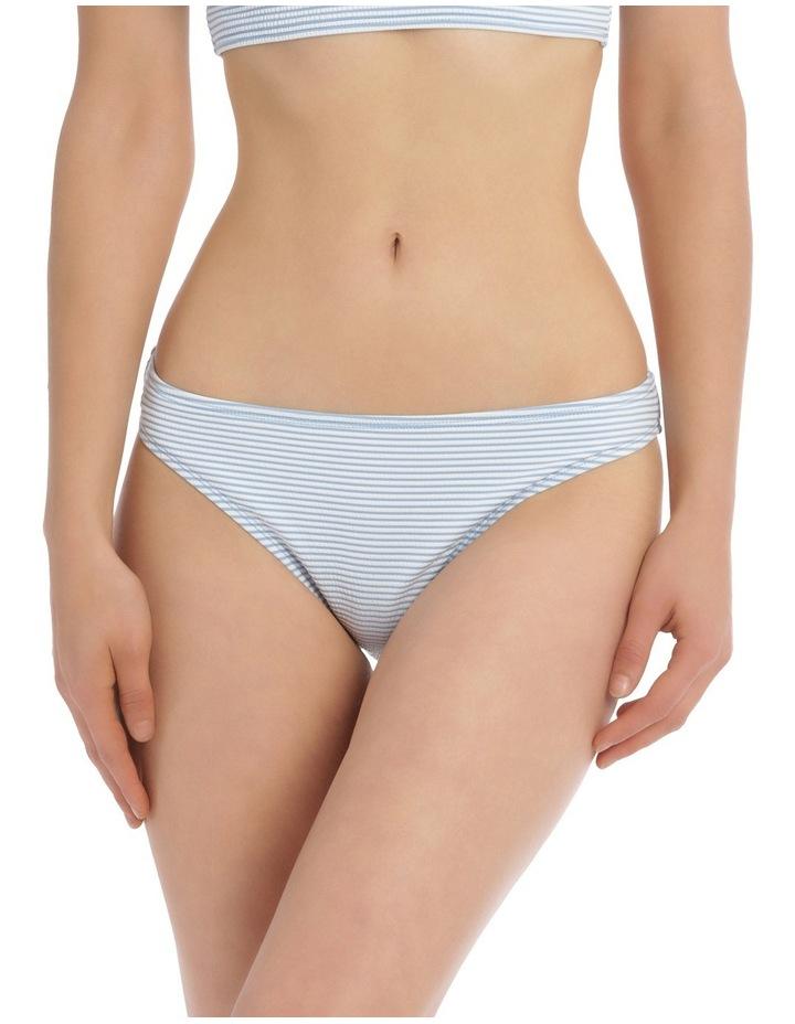 Basic Bottom - Light Blue / White Stripe image 1