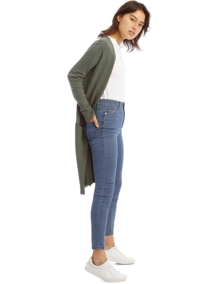 Longline Lightweight Cardigan image 2