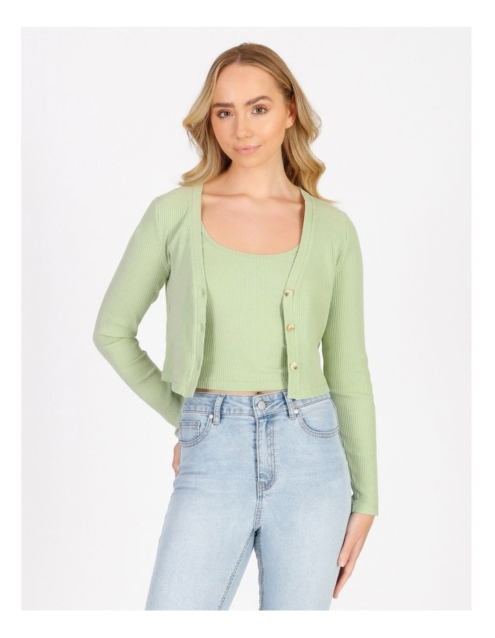 Fitted Crop Cardi image 1