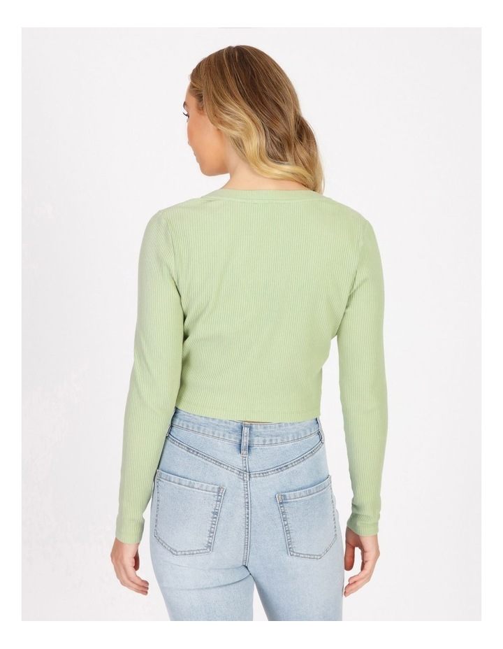 Fitted Crop Cardi image 3