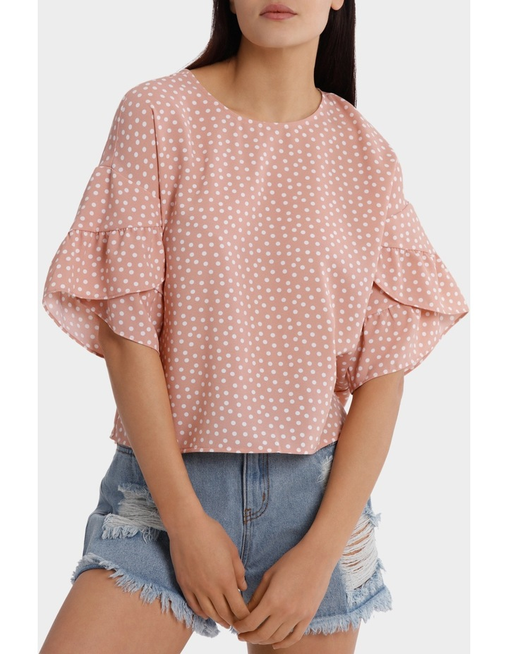 Casual Frill Sleeve Top image 1