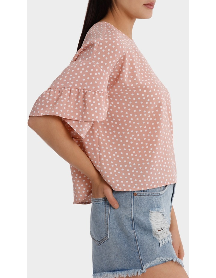Casual Frill Sleeve Top image 2
