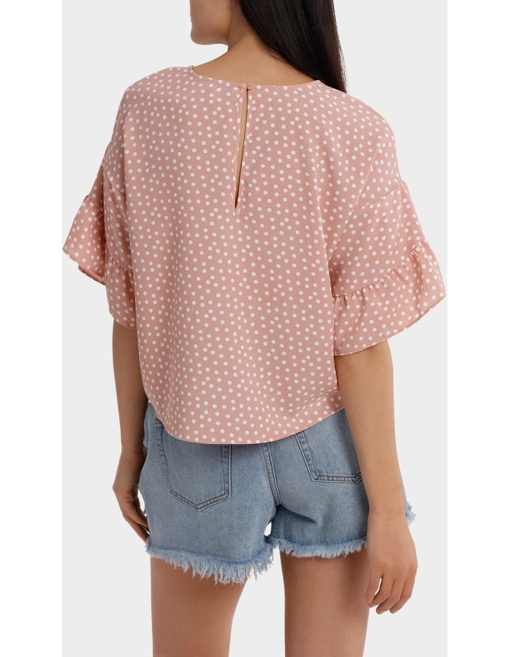 Casual Frill Sleeve Top image 3