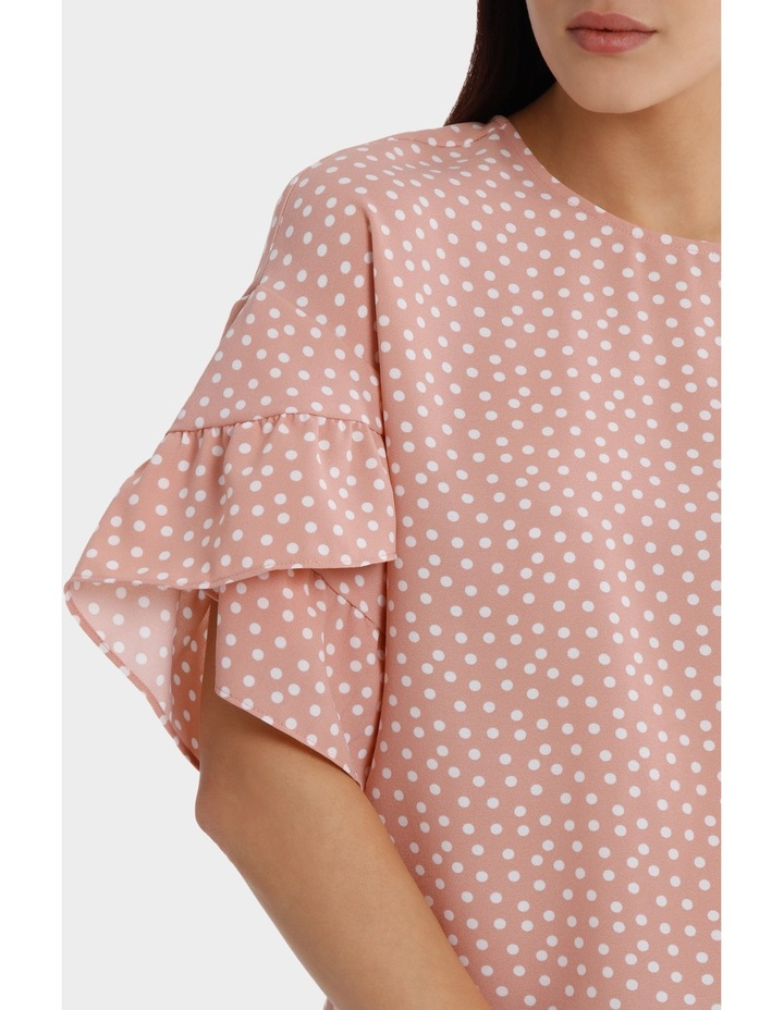 Casual Frill Sleeve Top image 4