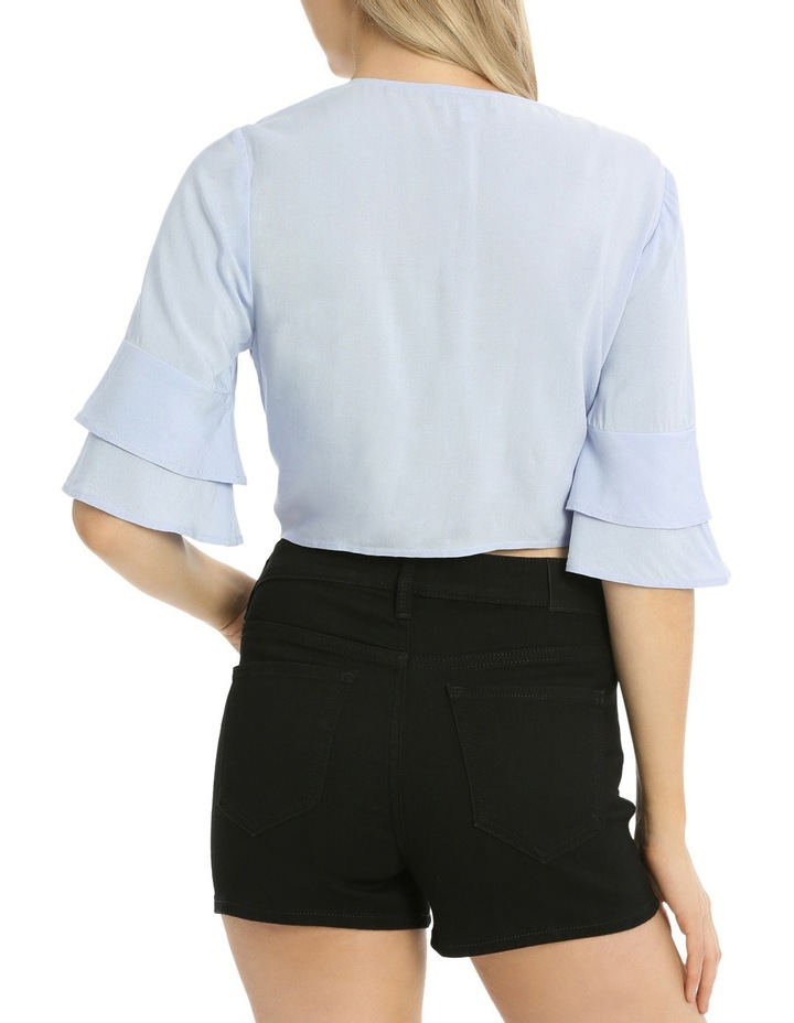 Tie Front Button Shirt image 3