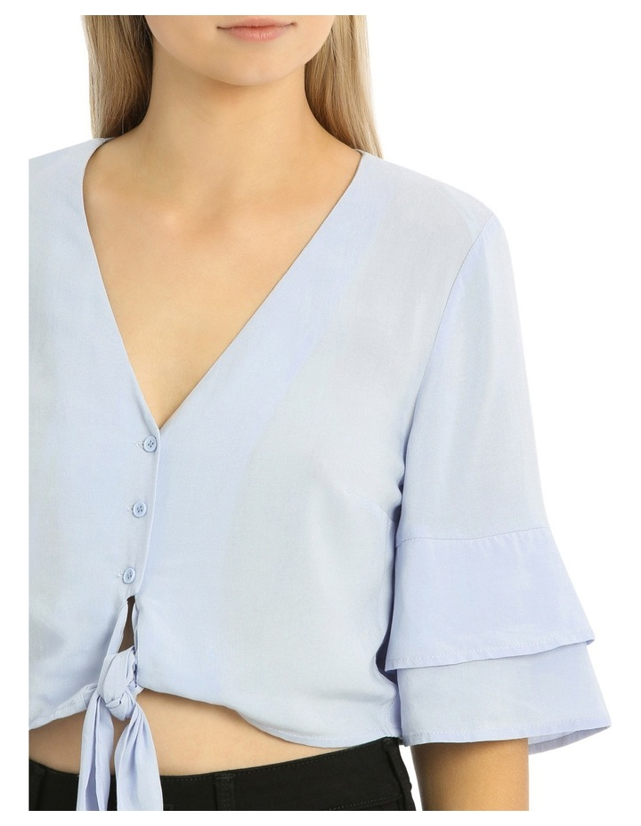 Tie Front Button Shirt image 4