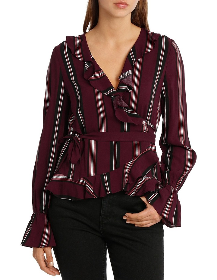 Frill Wrap Top MSCW18209. image 1