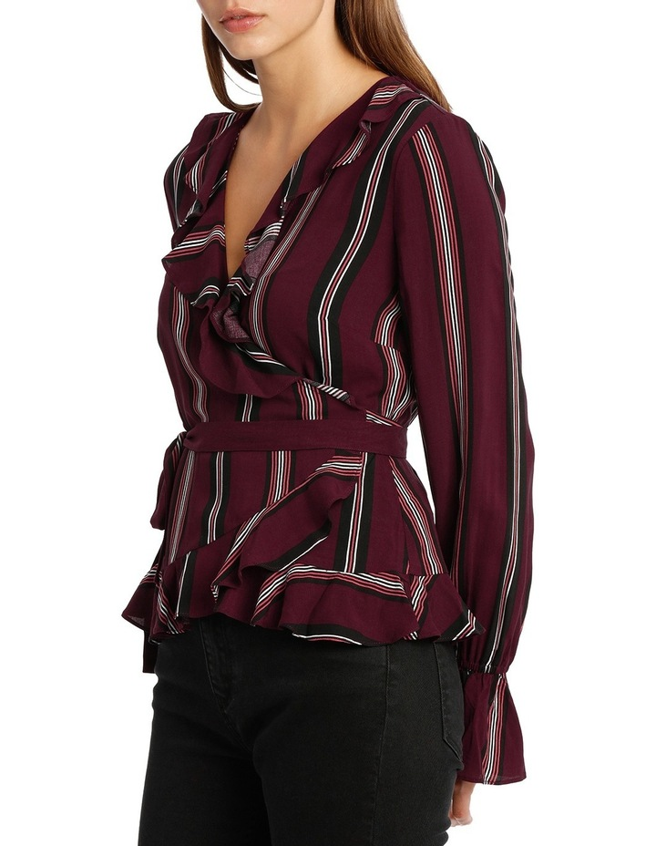 Frill Wrap Top MSCW18209. image 2