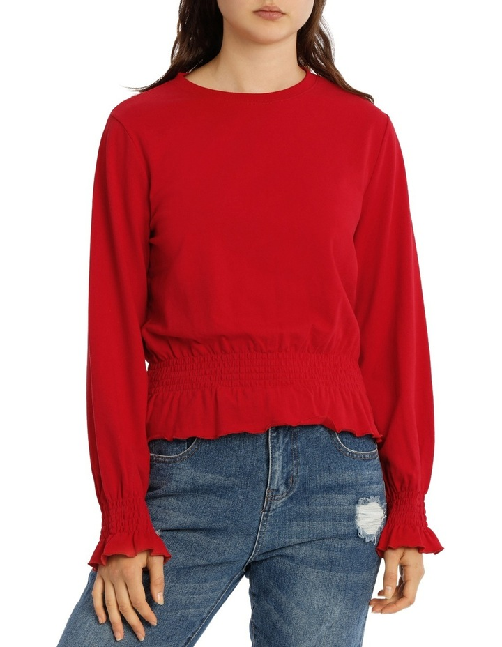 Shirred Top MSCW18235 image 1