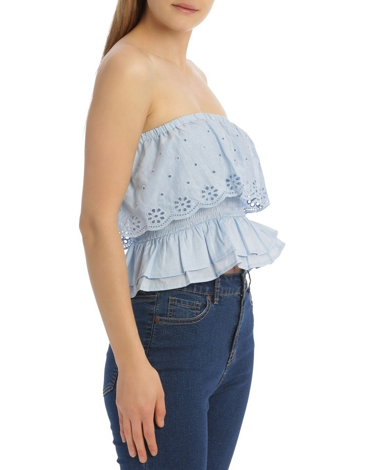 Off The Shoulder Broderie Top image 2