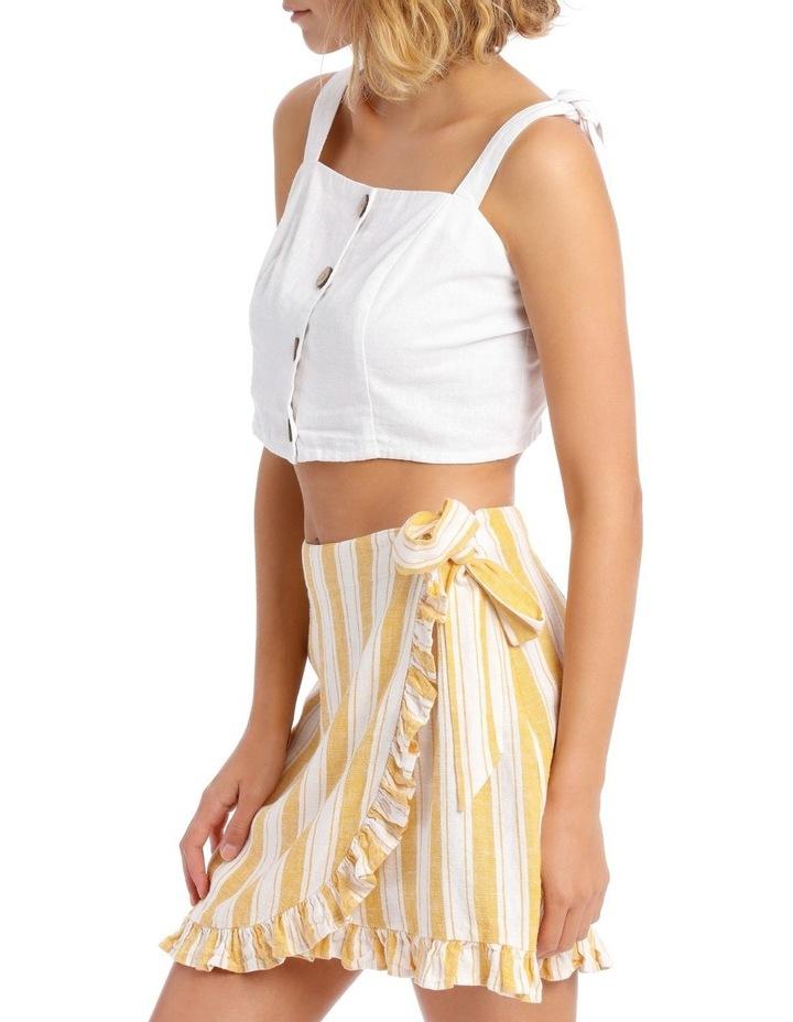Linen Blend Tie Shoulder Cami image 2