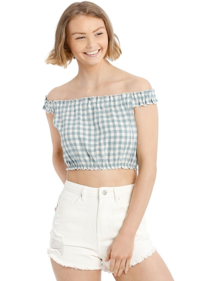 Off The Shoulder Ruffle Top image 1