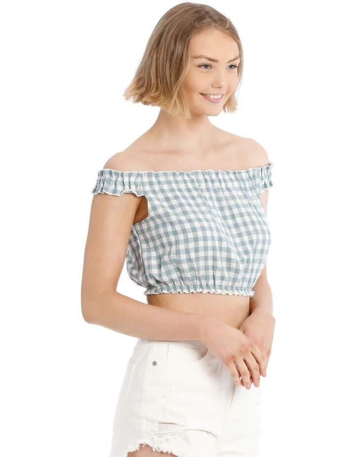 Off The Shoulder Ruffle Top image 2