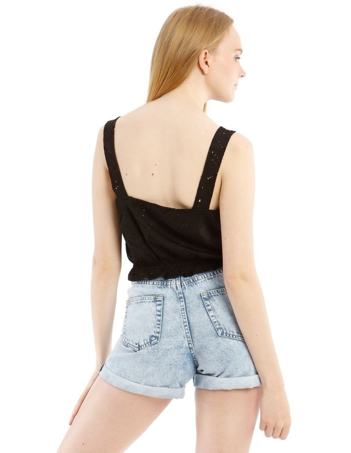 Jersey Broderie Tank Top image 3