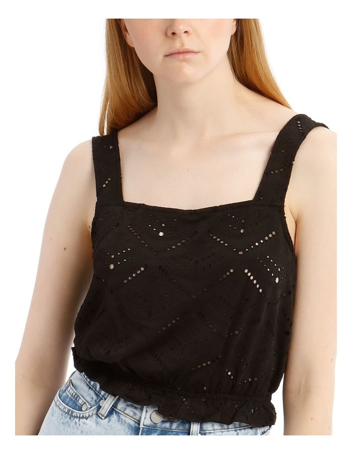 Jersey Broderie Tank Top image 4