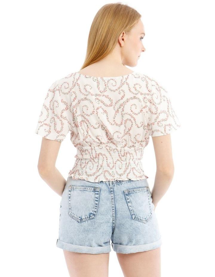 Shirred Waist Soft Top image 3