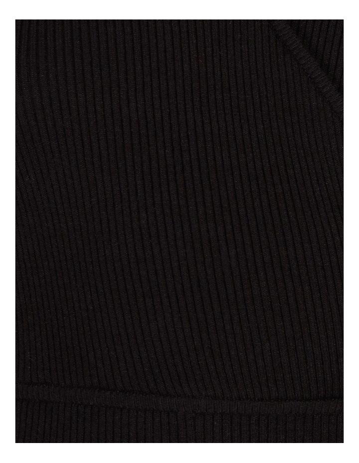 Rib Wrap Knit image 5