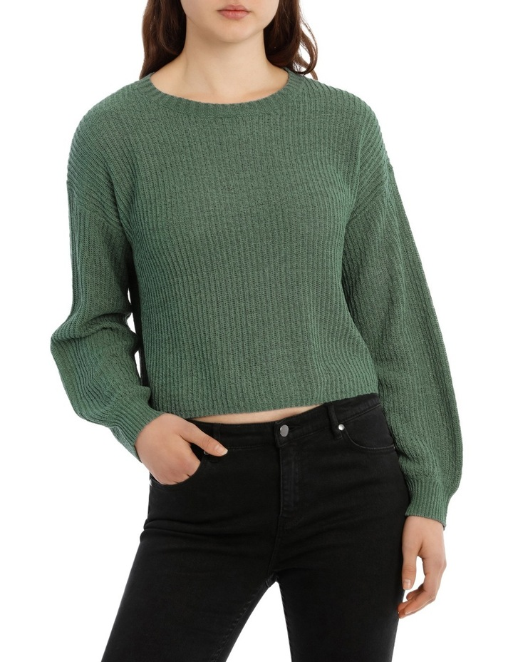 Crop Slouchy Knit image 1