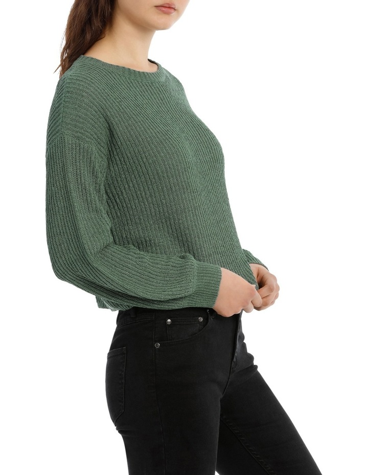 Crop Slouchy Knit image 2