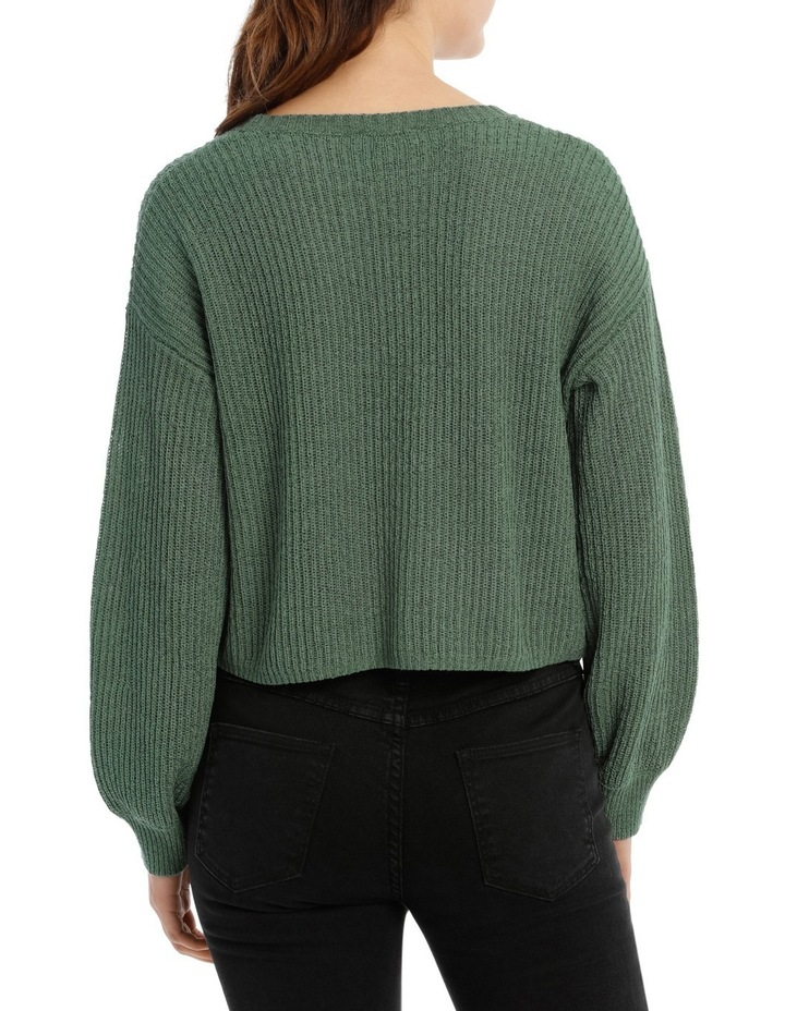 Crop Slouchy Knit image 3