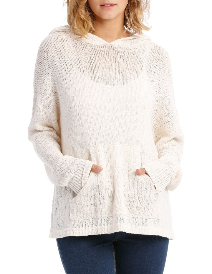 Knitted Relaxed Sweat Top image 1
