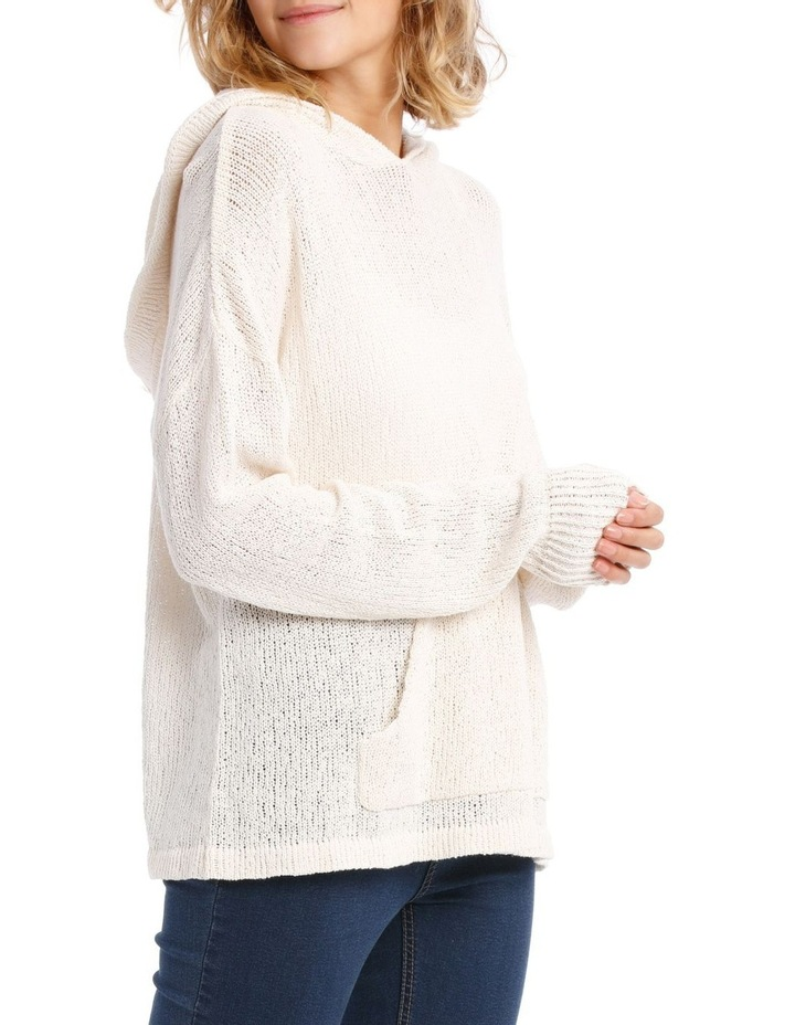 Knitted Relaxed Sweat Top image 2