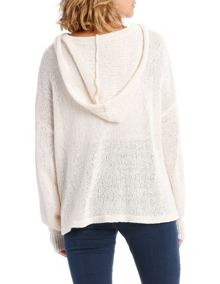 Knitted Relaxed Sweat Top image 3