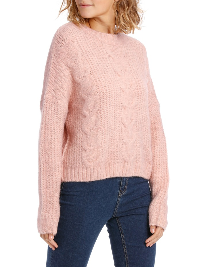 Cable Front Fuzzy Jumper image 2