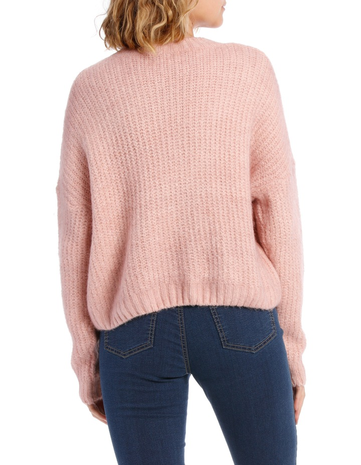 Cable Front Fuzzy Jumper image 3