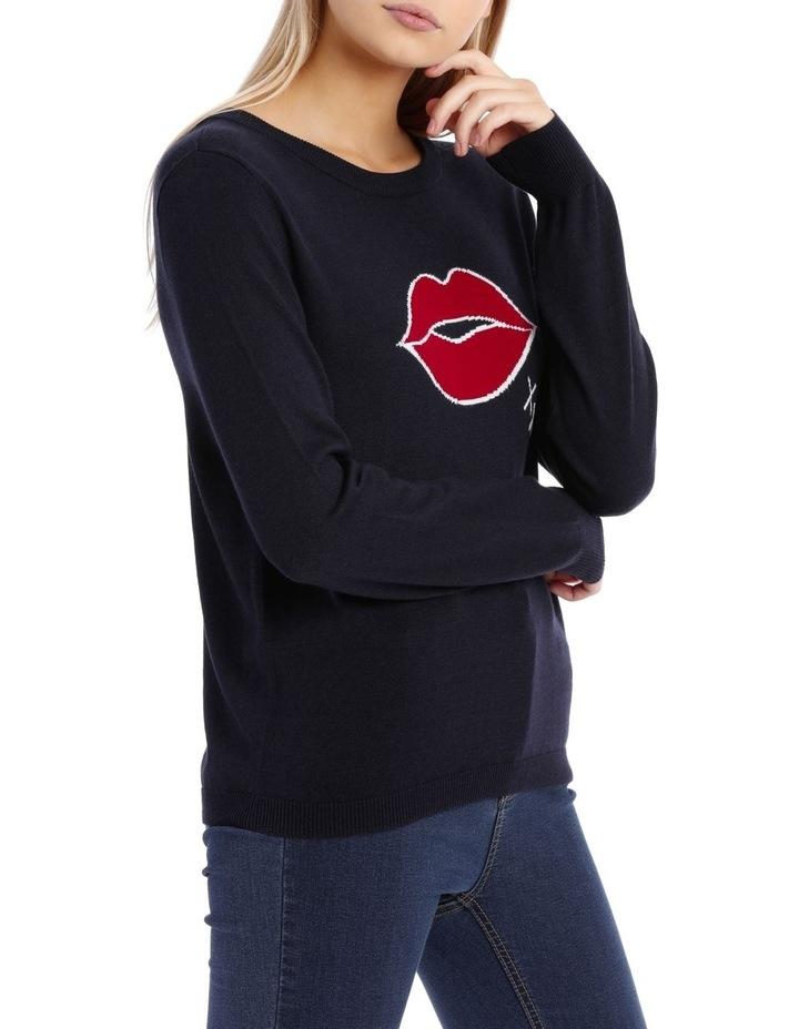 Kiss Kiss Crew Neck Knit image 2