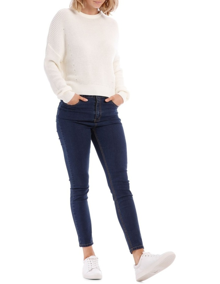 Cropped Perfect Crew Neck Jumper image 1