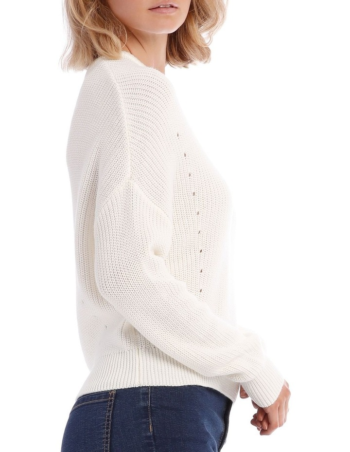 Cropped Perfect Crew Neck Jumper image 4
