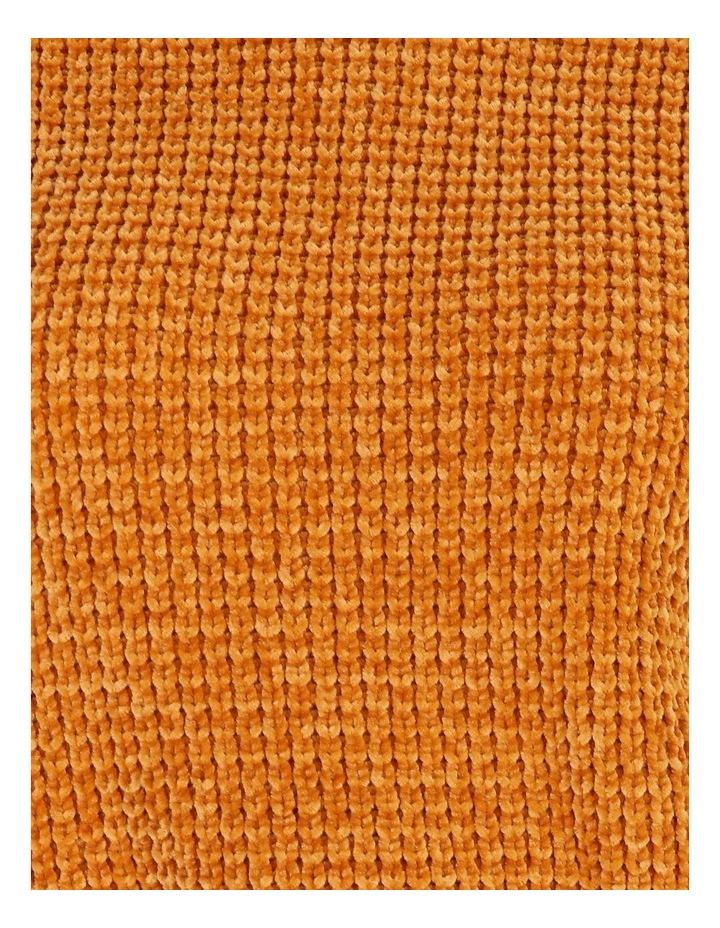 Chenille Raglan Honeycomb Sleeve Knit image 5
