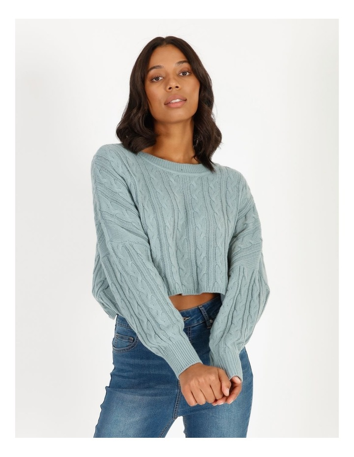 Relaxed Cable Knit image 1