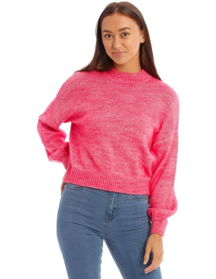 Bright Pop Pink Jumper image 1