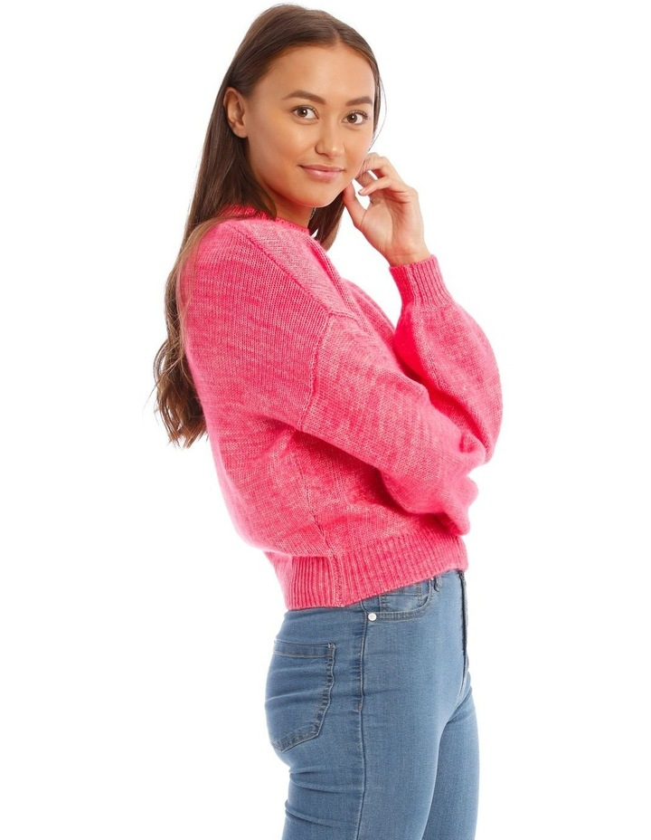 Bright Pop Pink Jumper image 2