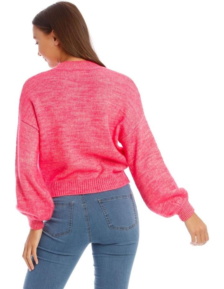 Bright Pop Pink Jumper image 3