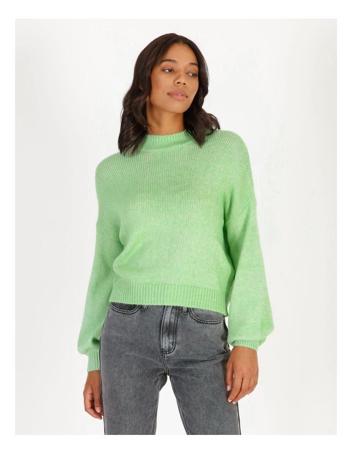 Apple Green Bright Jumper image 1