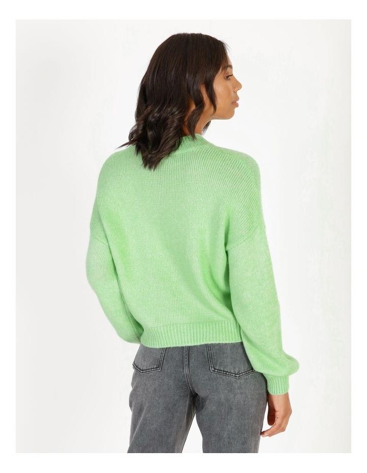 Apple Green Bright Jumper image 3