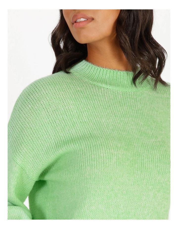 Apple Green Bright Jumper image 4