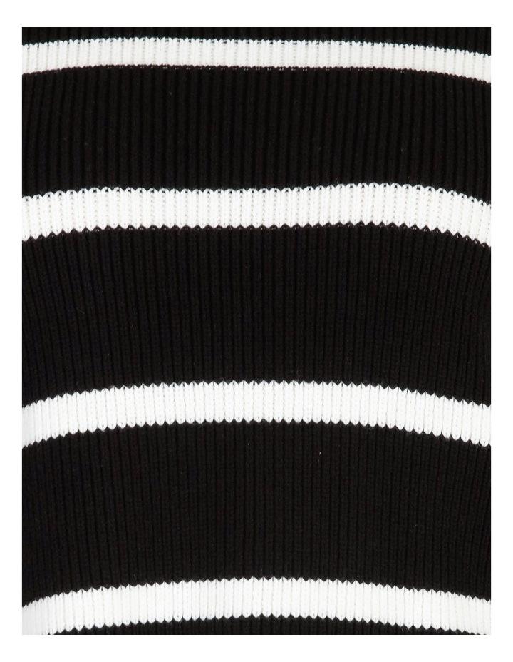 Stripe Roll Cuff Jumper image 5
