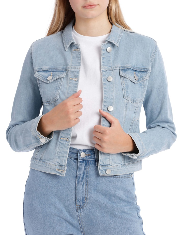 timeless design 062e8 b648d Miss Shop Blue Denim Jacket