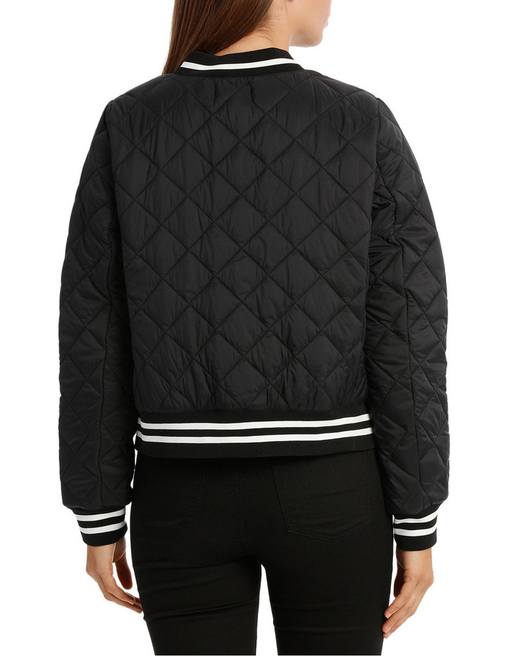 Quilted Tipping Puffa Bomber image 3