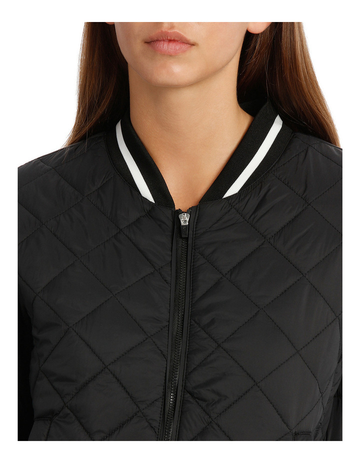 Quilted Tipping Puffa Bomber image 4
