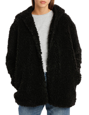 Miss Shop - Teddy Hooded Coat
