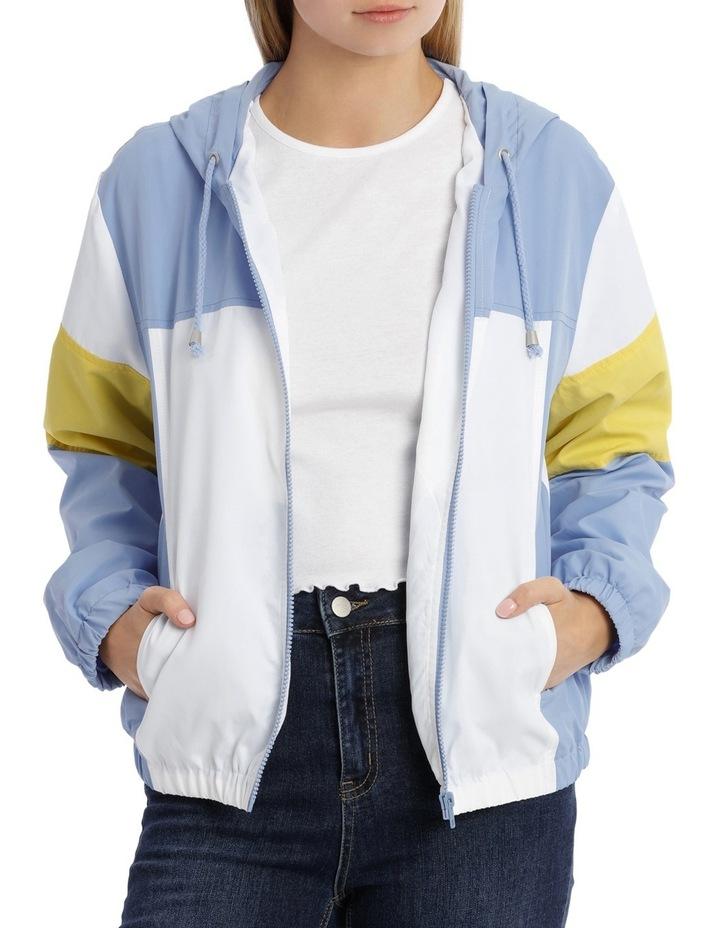 Colour Blocked Spray Jacket image 1